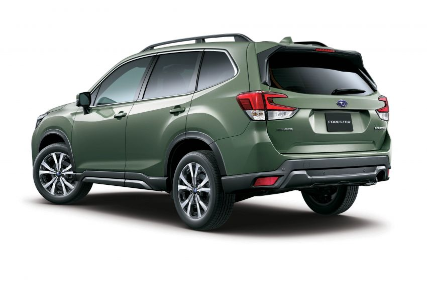 Subaru Forester receives minor updates in Japan Image #970389