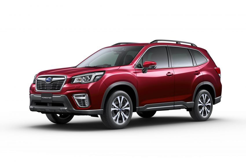 Subaru Forester receives minor updates in Japan Image #970390