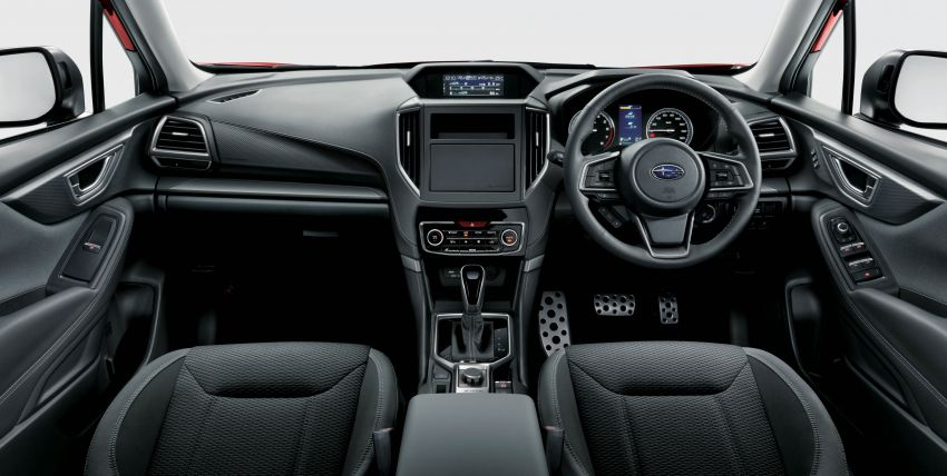 Subaru Forester receives minor updates in Japan Image #970392