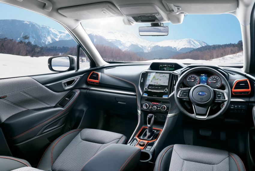 Subaru Forester receives minor updates in Japan Image #970373