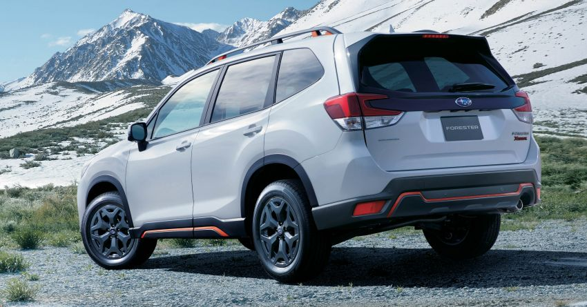 Subaru Forester receives minor updates in Japan Image #970394
