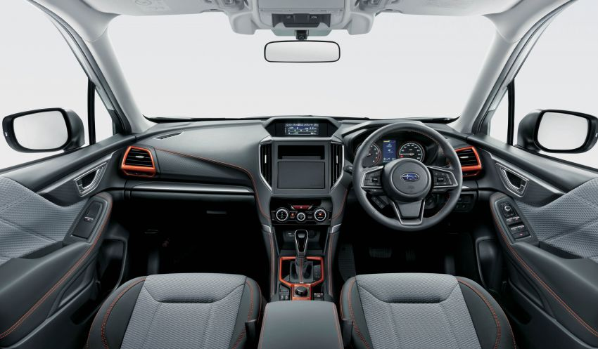 Subaru Forester receives minor updates in Japan Image #970395