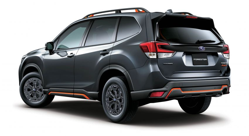 Subaru Forester receives minor updates in Japan Image #970396