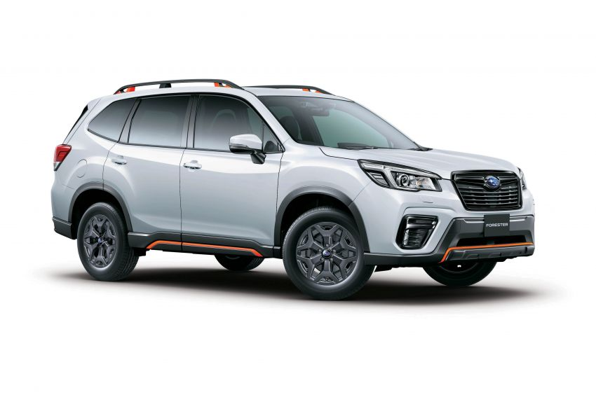 Subaru Forester receives minor updates in Japan Image #970397