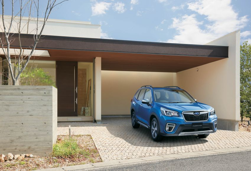 Subaru Forester receives minor updates in Japan Image #970401