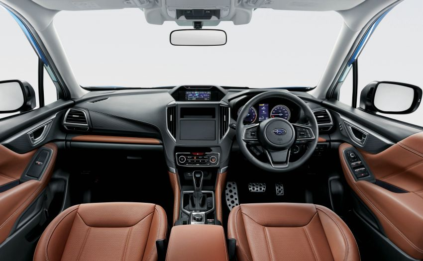 Subaru Forester receives minor updates in Japan Image #970402