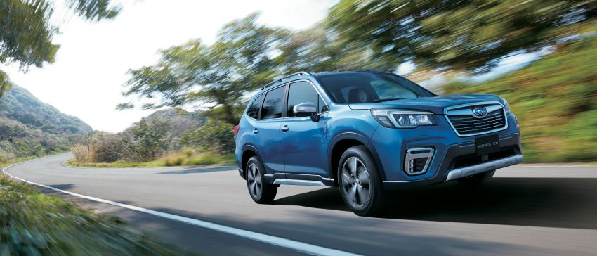 Subaru Forester receives minor updates in Japan Image #970374