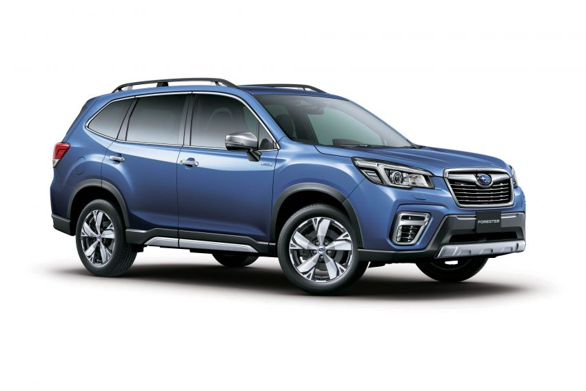 Subaru Forester receives minor updates in Japan Image #970404