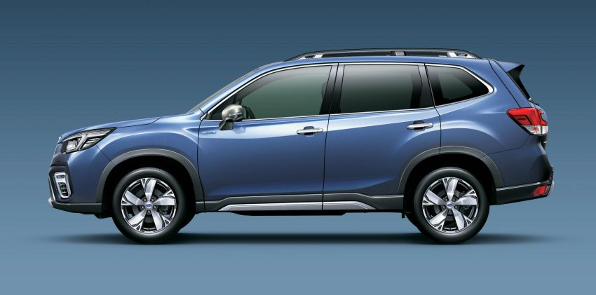 Subaru Forester receives minor updates in Japan Image #970408