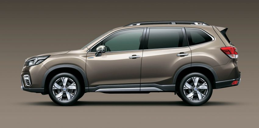 Subaru Forester receives minor updates in Japan Image #970409