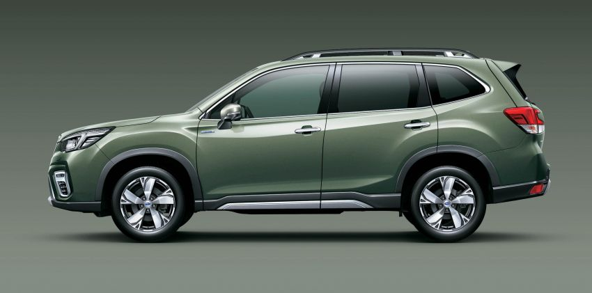 Subaru Forester receives minor updates in Japan Image #970410