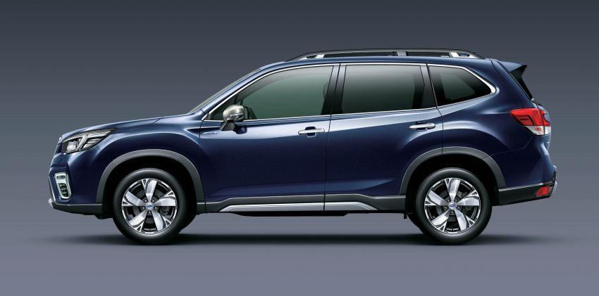 Subaru Forester receives minor updates in Japan Image #970411