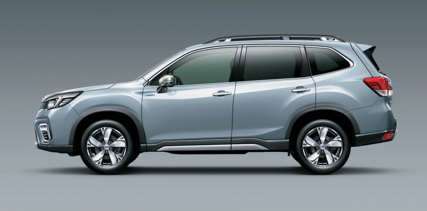 Subaru Forester receives minor updates in Japan Image #970413