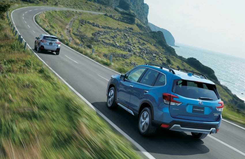 Subaru Forester receives minor updates in Japan Image #970375