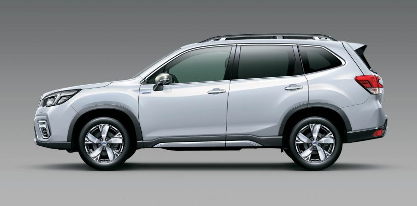 Subaru Forester receives minor updates in Japan Image #970414