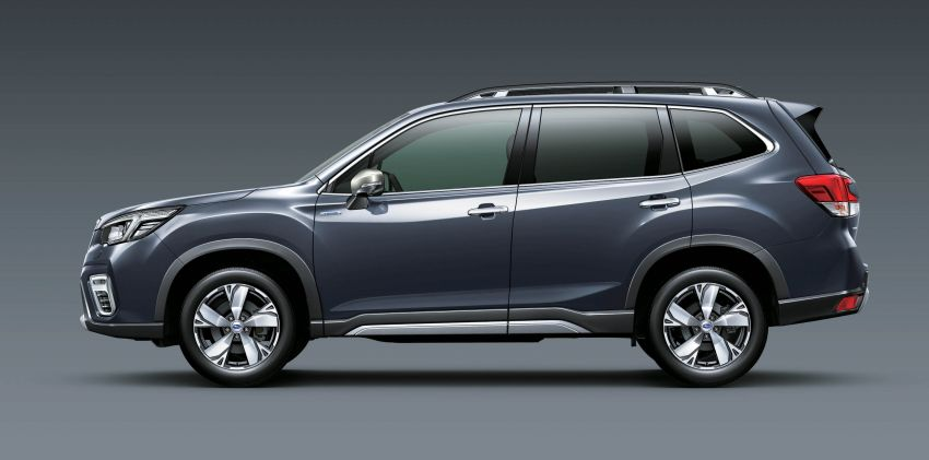 Subaru Forester receives minor updates in Japan Image #970415