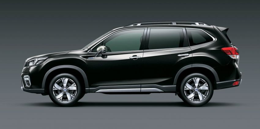 Subaru Forester receives minor updates in Japan Image #970416
