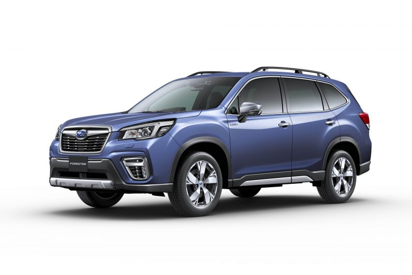 Subaru Forester receives minor updates in Japan Image #970421