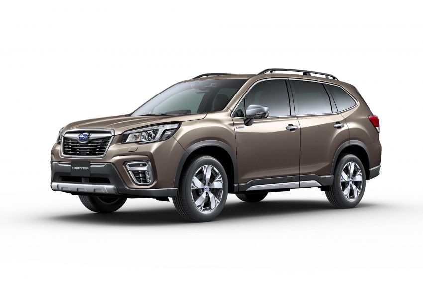 Subaru Forester receives minor updates in Japan Image #970422