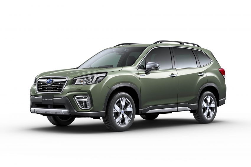 Subaru Forester receives minor updates in Japan Image #970423