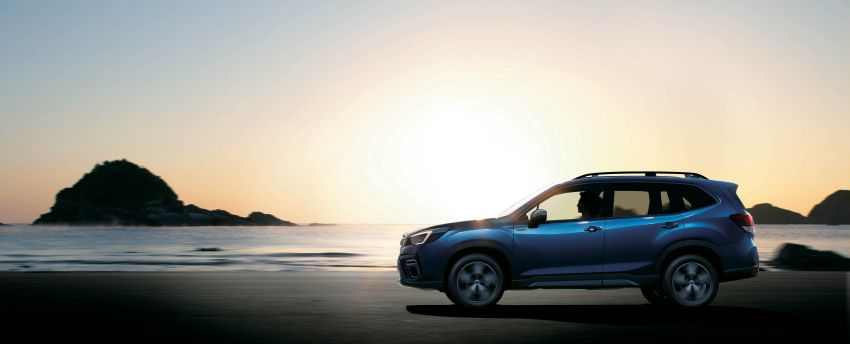 Subaru Forester receives minor updates in Japan Image #970376