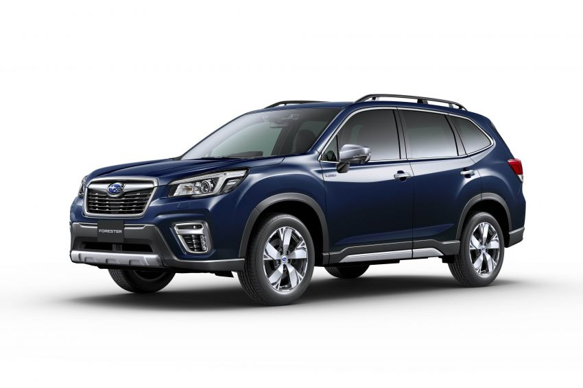 Subaru Forester receives minor updates in Japan Image #970424