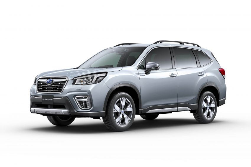 Subaru Forester receives minor updates in Japan Image #970426