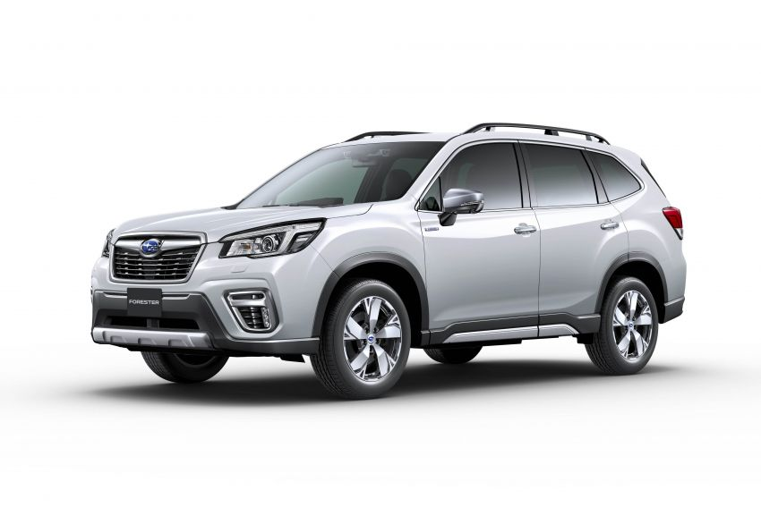 Subaru Forester receives minor updates in Japan Image #970427