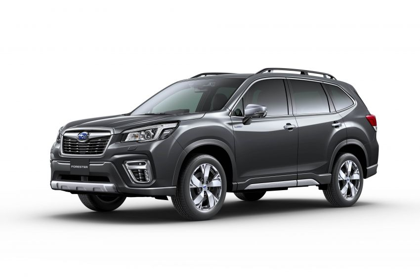 Subaru Forester receives minor updates in Japan Image #970428