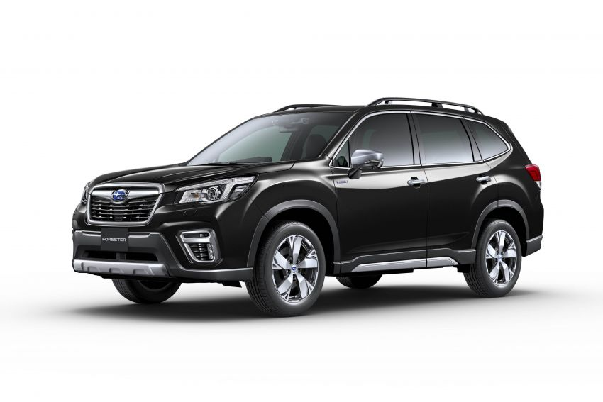 Subaru Forester receives minor updates in Japan Image #970429