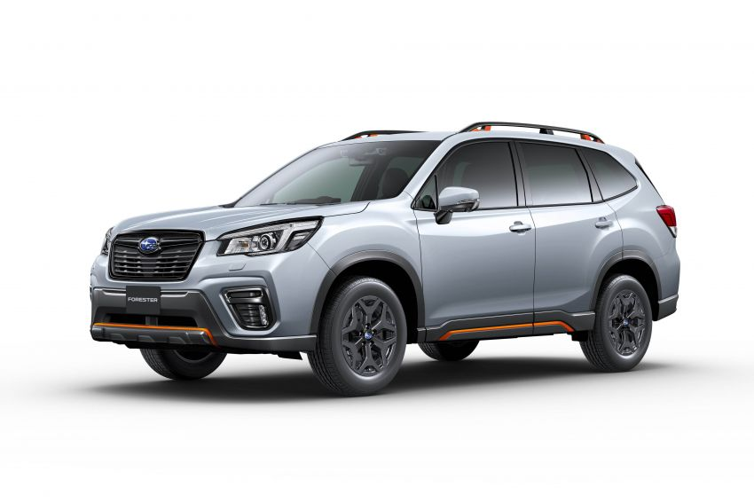 Subaru Forester receives minor updates in Japan Image #970430