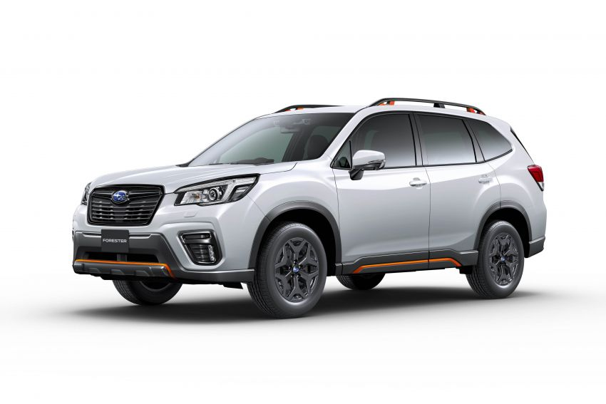 Subaru Forester receives minor updates in Japan Image #970431