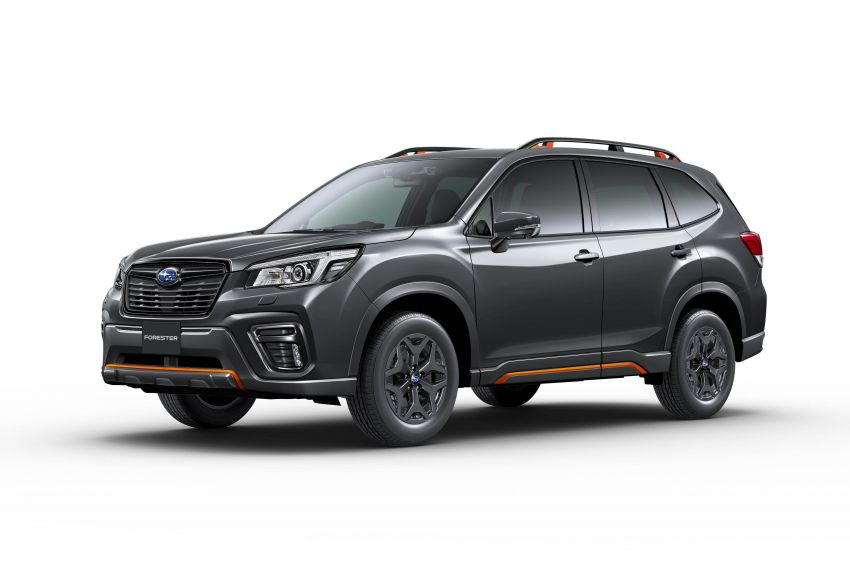 Subaru Forester receives minor updates in Japan Image #970432