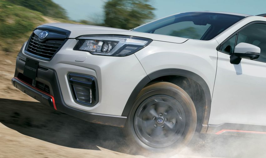 Subaru Forester receives minor updates in Japan Image #970379