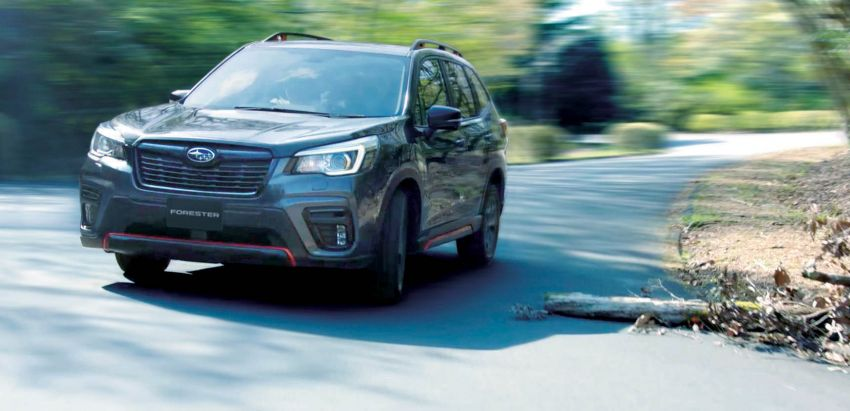 Subaru Forester receives minor updates in Japan Image #970380