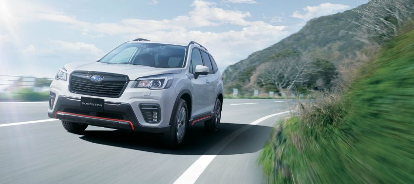 Subaru Forester receives minor updates in Japan Image #970381