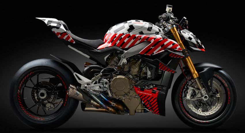 Ducati Streetfighter V4 versi prototaip akhirnya muncul Image #972243