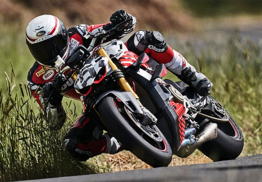 Ducati Streetfighter V4 versi prototaip akhirnya muncul Image #972245