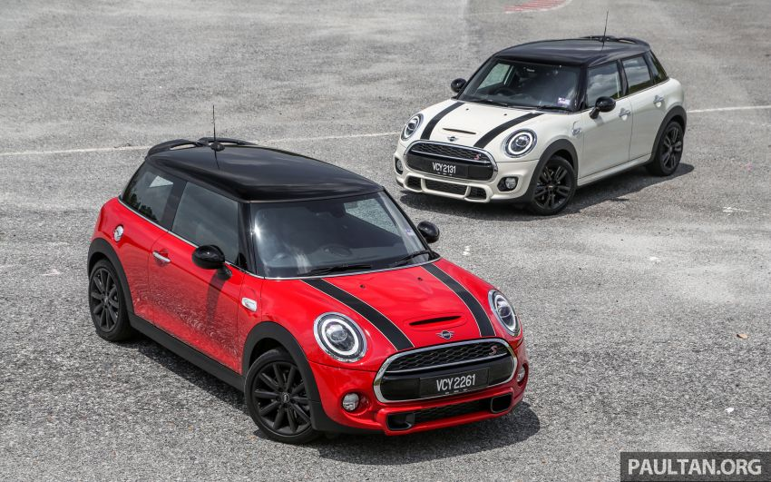 FIRST DRIVE: 2019 MINI Cooper S 3 Door, 5 Door LCI Image #970998