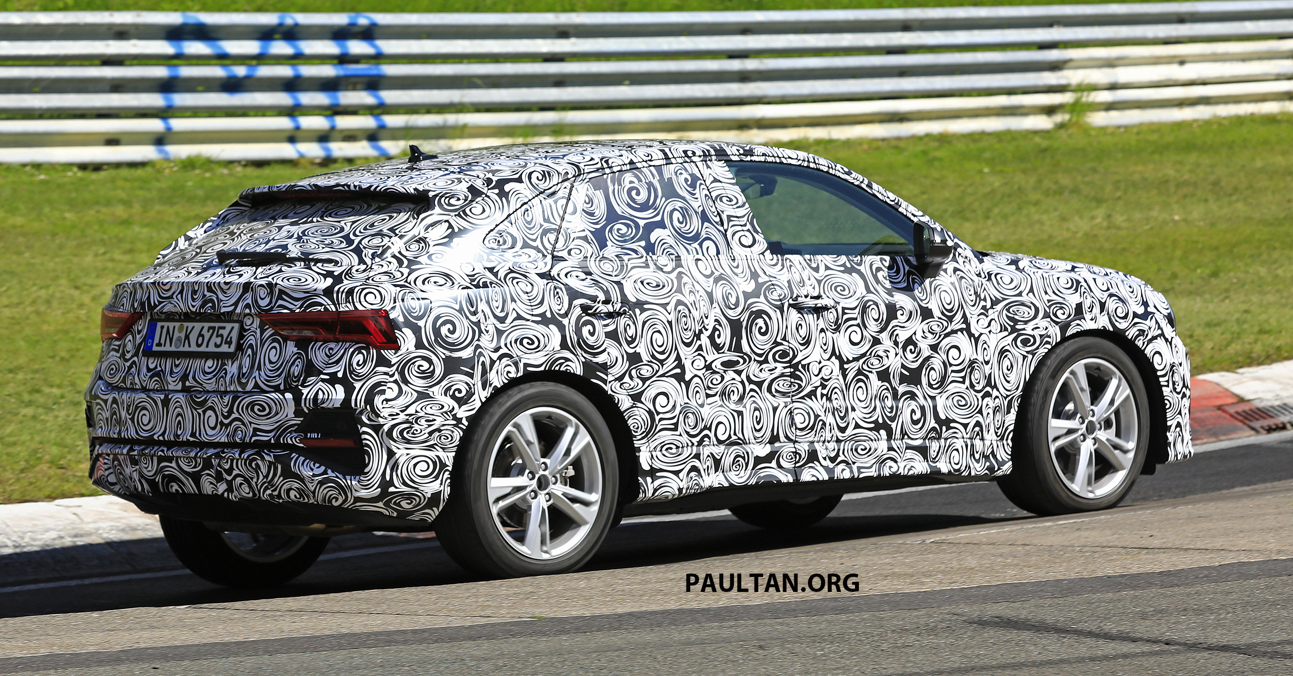 it appears that audi is preparing the first ever q3 sportback in an attempt to proliferate its sportback moniker at this point it s unclear if there will