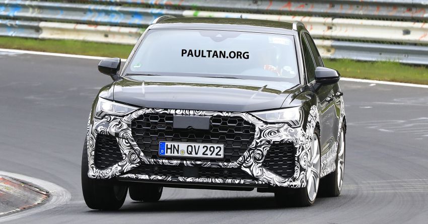 SPIED: 2020 Audi RS Q3 to get up to 400 PS, 480 Nm? Image #970251
