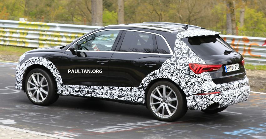 SPIED: 2020 Audi RS Q3 to get up to 400 PS, 480 Nm? Image #970270