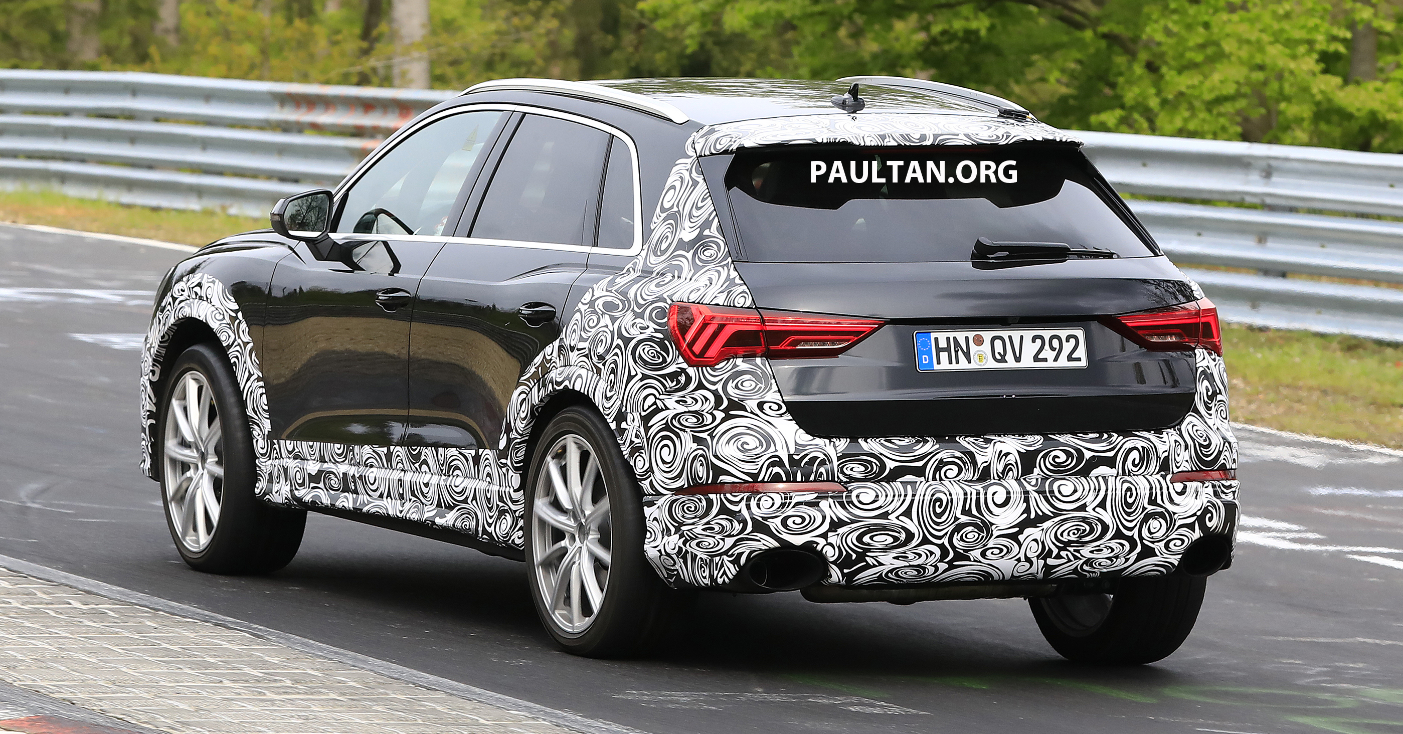 Spied 2020 Audi Rs Q3 To Get Up To 400 Ps 480 Nm Paultan Org
