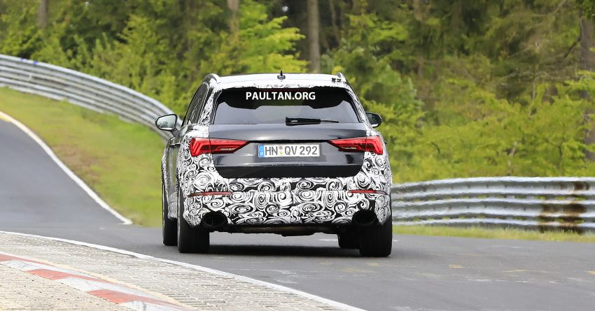 SPIED: 2020 Audi RS Q3 to get up to 400 PS, 480 Nm? Image #970275