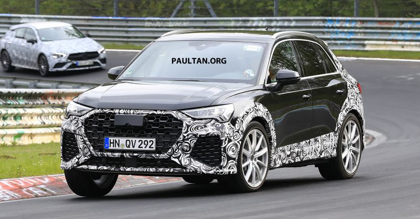 SPIED: 2020 Audi RS Q3 to get up to 400 PS, 480 Nm? Image #970252
