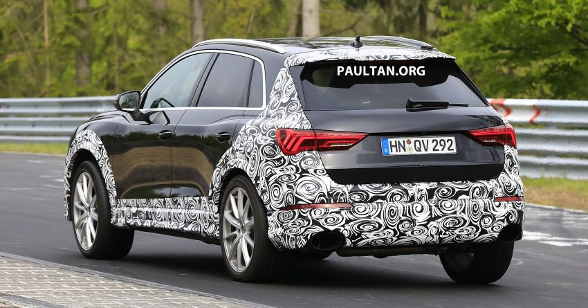 SPIED: 2020 Audi RS Q3 to get up to 400 PS, 480 Nm? Image #970256