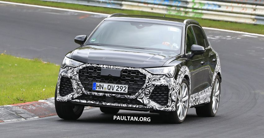 SPIED: 2020 Audi RS Q3 to get up to 400 PS, 480 Nm? Image #970261