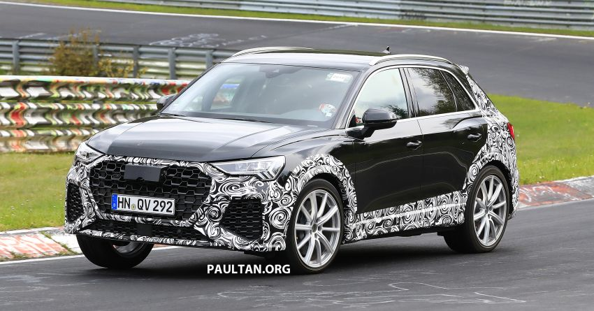 SPIED: 2020 Audi RS Q3 to get up to 400 PS, 480 Nm? Image #970264