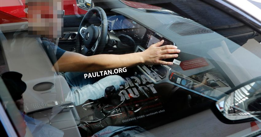 SPYSHOT: G80 BMW M3 interior seen for the first time! Image #969907