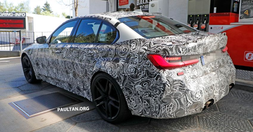 SPYSHOT: G80 BMW M3 interior seen for the first time! Image #969918